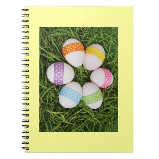 Huevos de Pascua Libro De Apuntes
