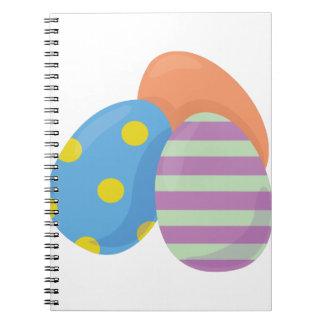 Huevos de Pascua Libros De Apuntes Con Espiral