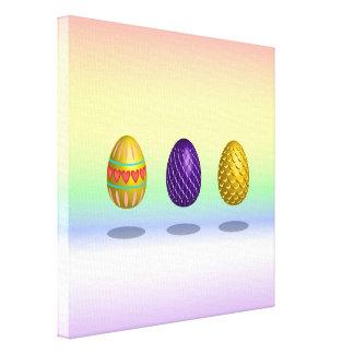 Huevos de Pascua Lienzo Envuelto Para Galerías