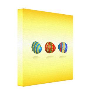 Huevos de Pascua Impresión En Lona