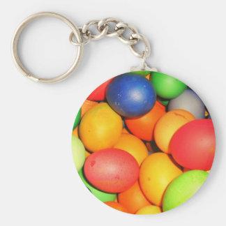 Huevos de Pascua Llavero Redondo Tipo Pin