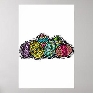 Huevos de Pascua Poster