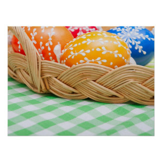 Huevos de Pascua Posters