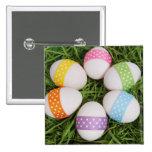 Huevos de Pascua Pin Cuadrada 5 Cm