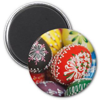 Huevos de Pascua pintados a mano Imanes Para Frigoríficos