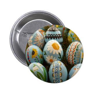 Huevos de Pascua pintados azul Pins