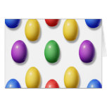 Huevos de Pascua plásticos Felicitación