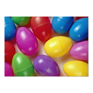 "Huevos de Pascua plásticos Invitación 5"" X 7"""