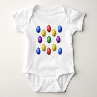 Huevos de Pascua plásticos Playera