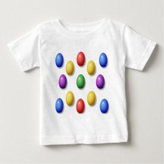 Huevos de Pascua plásticos Playera Para Bebé