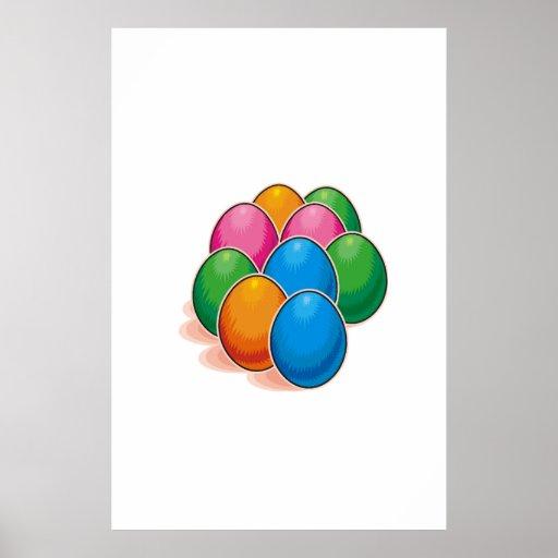 Huevos de Pascua Póster
