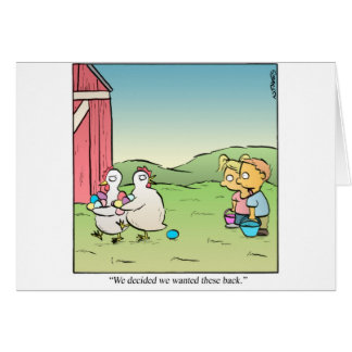 Huevos de Pascua Tarjeton