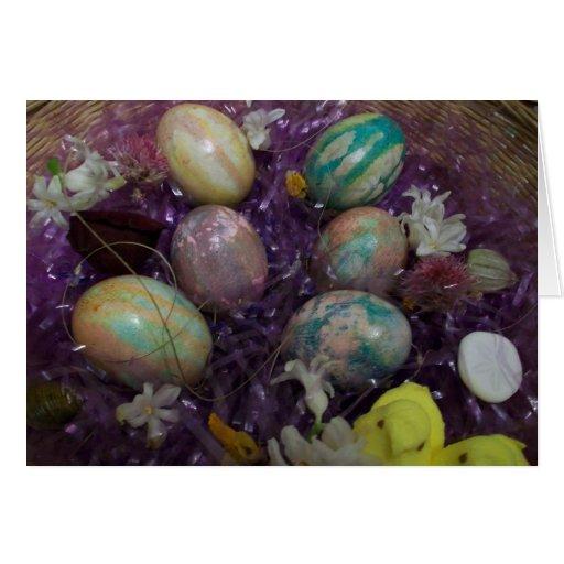 Huevos de Pascua Tarjeta Pequeña