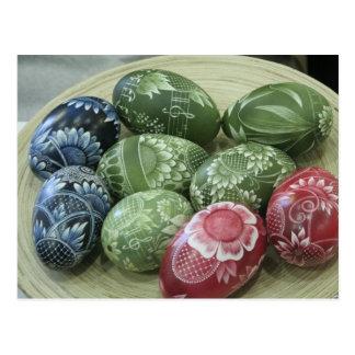 Huevos de Pascua Tarjeta Postal