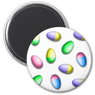 Huevos de Pascua teñidos inmersión Imanes