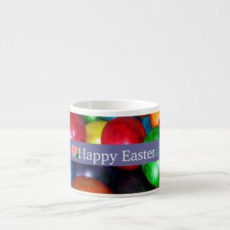 Huevos de Pascua veteados Tazita Espresso