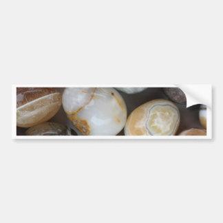 huevos de piedra pegatina para auto