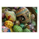 Huevos de Pysanky Pascua Felicitación