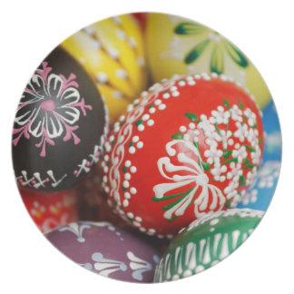 Huevos decorativos platos