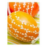 huevos del aster postal