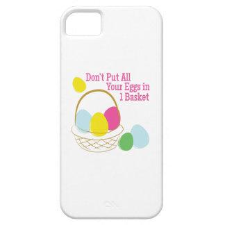 Huevos en 1 cesta iPhone 5 Case-Mate fundas