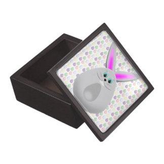 Huevos en colores pastel del conejito de pascua cajas de regalo de calidad