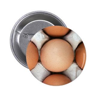 Huevos en una caja chapa redonda 5 cm