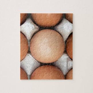 Huevos en una caja puzzle