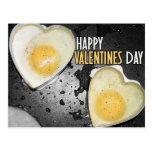 Huevos felices del día de San Valentín Postal