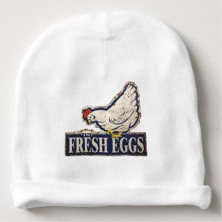 huevos frescos gorrito para bebe