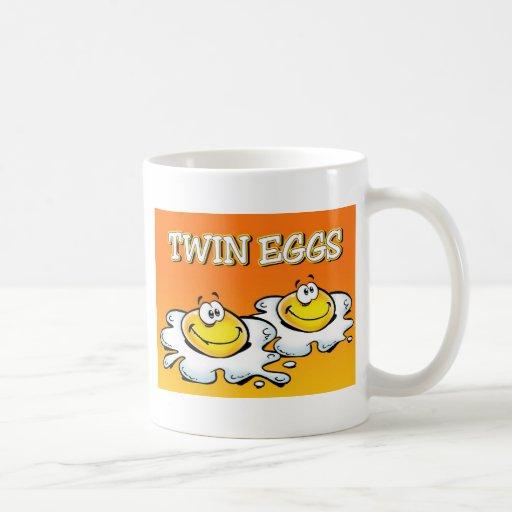 Huevos gemelos taza clásica