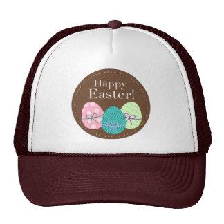 Huevos Pascua feliz de Brown Pascua Gorro