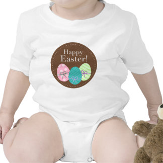 Huevos Pascua feliz de Brown Pascua Camiseta