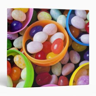 """Huevos plásticos llenados de las habas de jalea carpeta 1 1/2"""""""