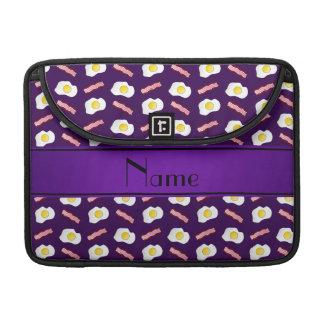 Huevos púrpuras conocidos personalizados del fundas para macbook pro