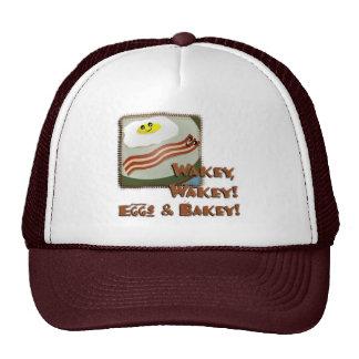 Huevos y Bakey de Wakey Gorra