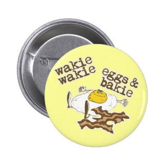 Huevos y Bakie de Wakie Wakie Pin