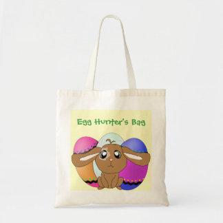 Huevos y el bolso del cazador del huevo del coneji bolsa de mano