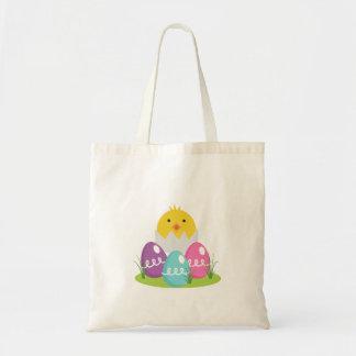 Huevos y polluelo de Pascua Bolsa Tela Barata
