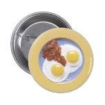 Huevos y salsa pin