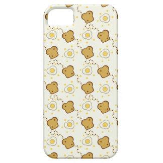 Huevos y tostada iPhone 5 fundas