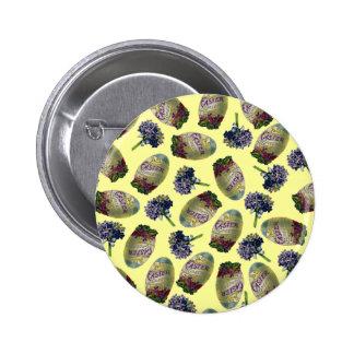 Huevos y violetas de Pascua del vintage Pins