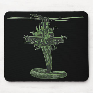 Huey Cobra Helicopter Mouse Pad