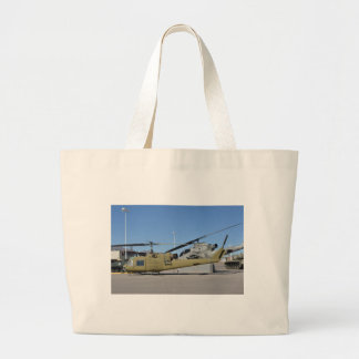 Huey & Cobra helicopters Aircraft Destiny Large Tote Bag
