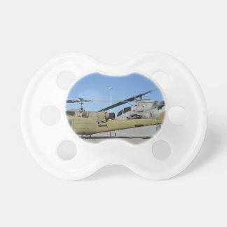 Huey & Cobra helicopters Aircraft Destiny Baby Pacifier