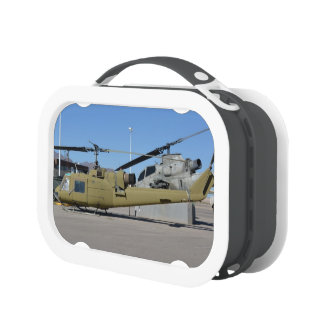 Huey & Cobra helicopters Aircraft Tank Destiny Lunch Boxes