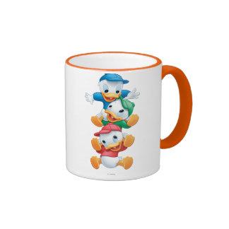 Huey, Dewey, and Louie 1 Ringer Coffee Mug