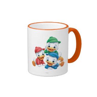 Huey, Dewey, and Louie 2 Ringer Coffee Mug