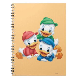 Huey, Dewey, and Louie 2 Note Books