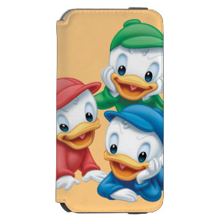 Huey, Dewey, and Louie | Pyramid iPhone 6/6s Wallet Case
